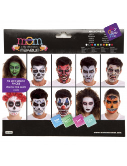 Kit de Maquillaje de Halloween