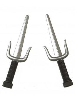 Cuchillos Ninja Sai Pequeños