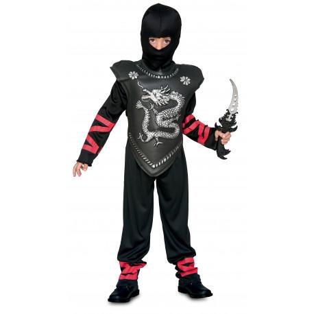 Disfraz de Ninja Negro para Niño