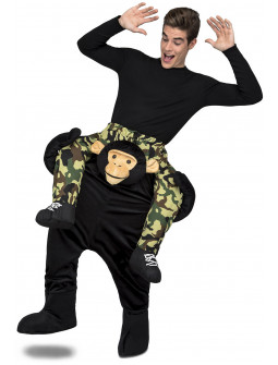 Disfraz de Mono a Hombros para Adulto