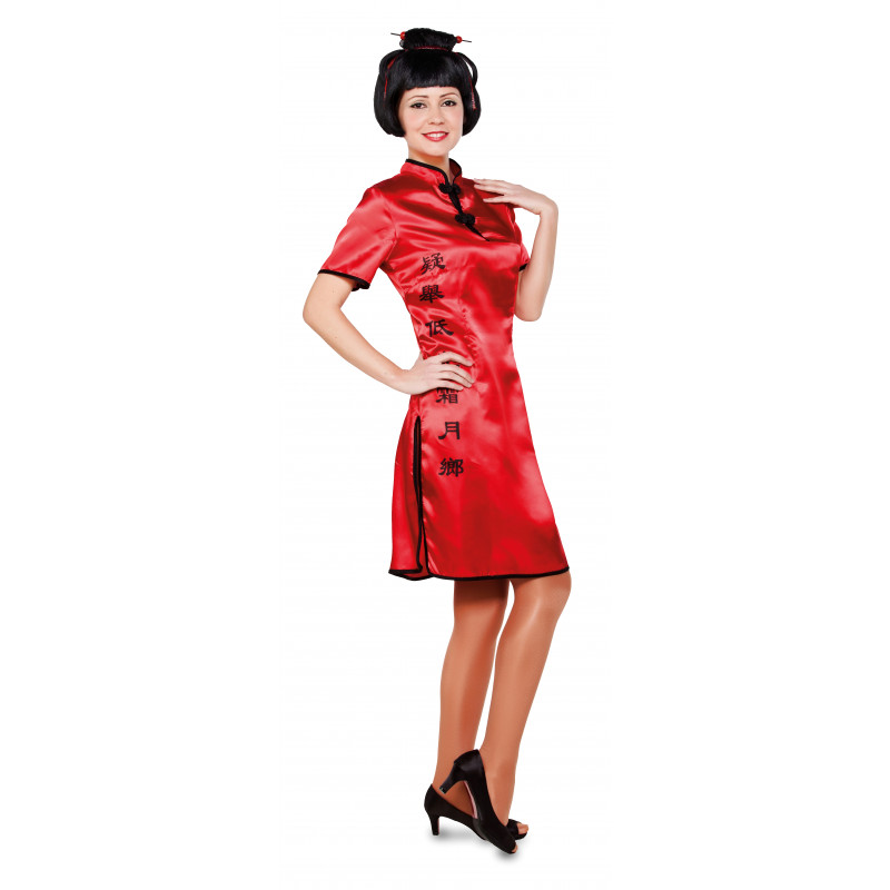 a0f39b0360 Disfraz de China Oriental para Mujer