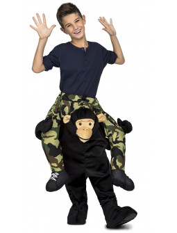 Disfraz de Mono a Hombros Infantil