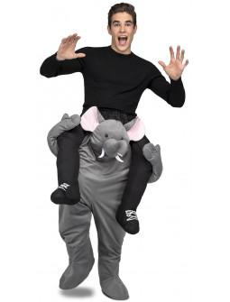 Disfraz de Elefante a Hombros para Adulto
