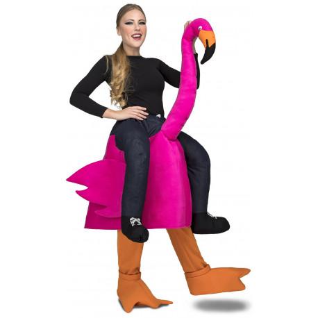 Disfraz de Flamenco a Hombros para Adulto