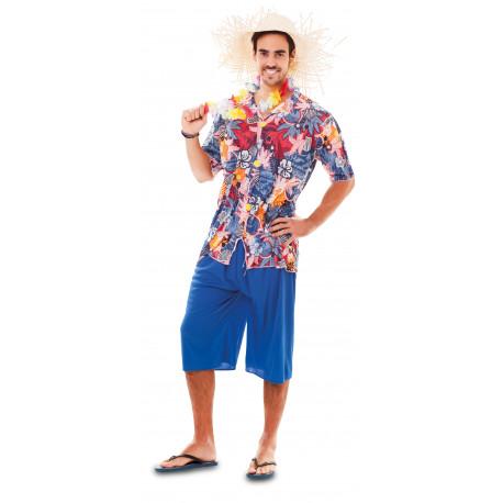 Disfraz de Hawaiano para Hombre