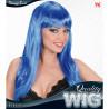 Peluca azul Quality Wig