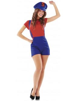 Disfraz de Super Mario para Mujer