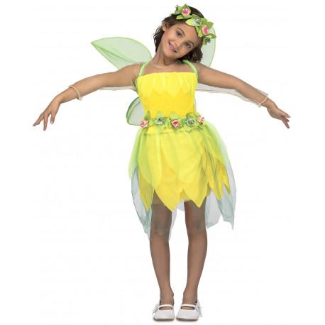 Disfraz de Hada Amarilla para Niña