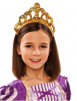 Corona Dorada de Reina Infantil