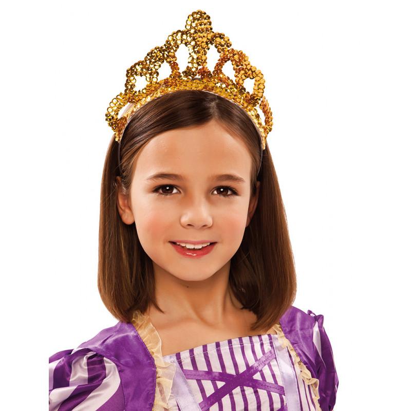 Corona Dorada De Reina Infantil Comprar Online