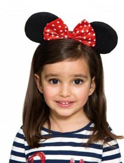 Diadema de Minnie Mouse para Niña