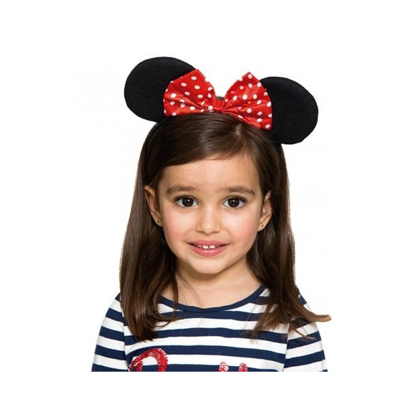 Diadema de minnie mouse para ni a comprar online Diademas de nina originales