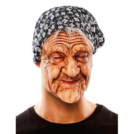 Máscara de Vieja con Arrugas