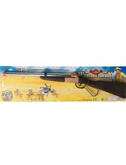 Rifle de Vaquero con Estrella de Sheriff