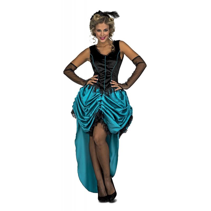 3a9f682d3a Disfraz de Señorita Azul Lejano Oeste de Westworld