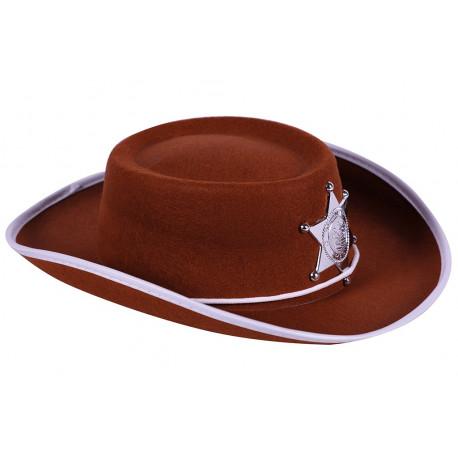 Sombrero Vaquero Infantil Marrón con Estrella