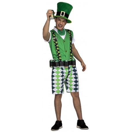 Disfraz de Irlandés Fiestero para Hombre