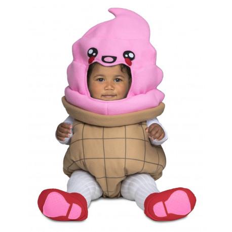 Disfraz de Helado Divertido para Bebé