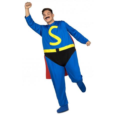 Disfraz de Superlópez Gordinflón para Adulto