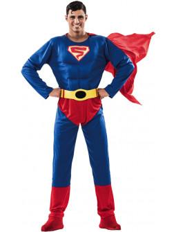 Disfraz de Superman Musculoso para Hombre