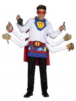 Disfraz de Super Padre Manitas para Hombre