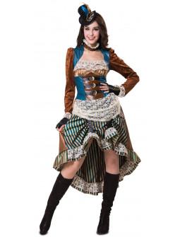 Disfraz de Chica Steampunk para Mujer