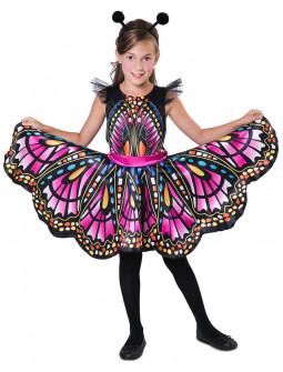 Disfraz de Mariposa Colorida para Niña