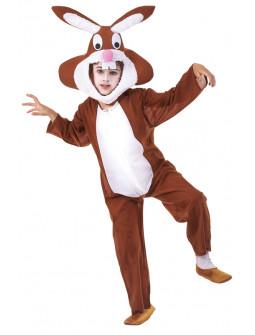 Disfraz de Conejo Marrón Infantil