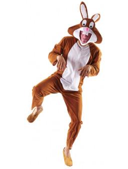 Disfraz de Conejo Marrón para Adulto