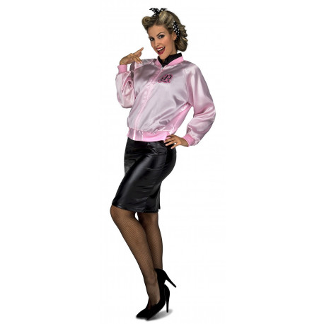 Chaqueta Rosa Pink Ladies para Adulto