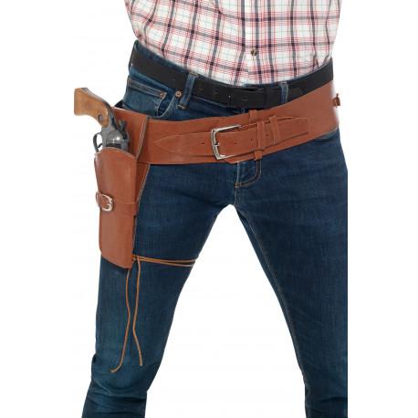 Cartuchera de Vaquero con Cinturón en Polipiel