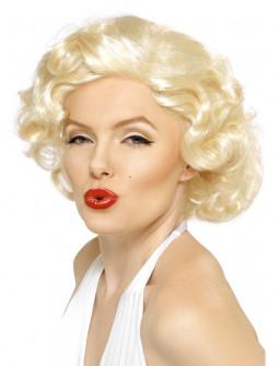 Peluca de Marilyn Monroe Oficial