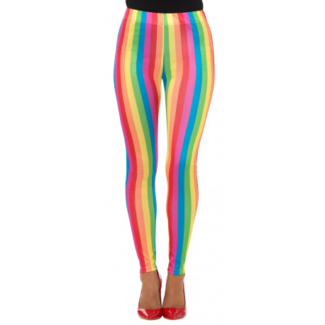 Leggings Arcoíris de Payaso para Mujer