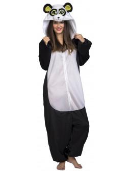 Disfraz de Oso Panda Ojazos para Adulto