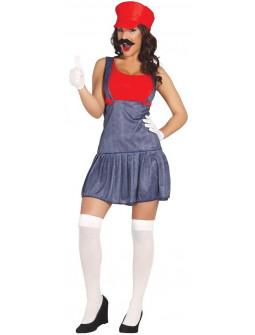 Disfraz de Super Mario Bros para Mujer