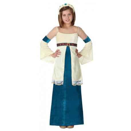 Disfraz de Princesa Medieval para Niña