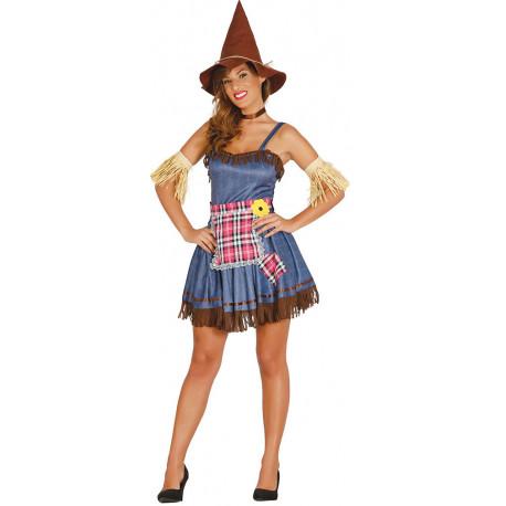 Disfraz de Espantapájaros para Mujer