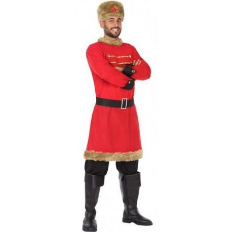 Disfraz de Ruso Comunista Rojo para Hombre
