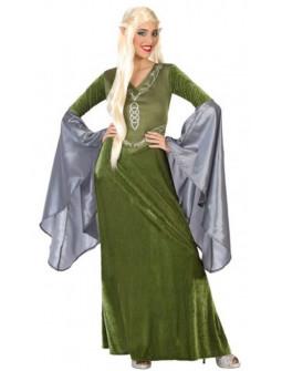 Disfraz de Dama Elfa del Señor de los Anillos