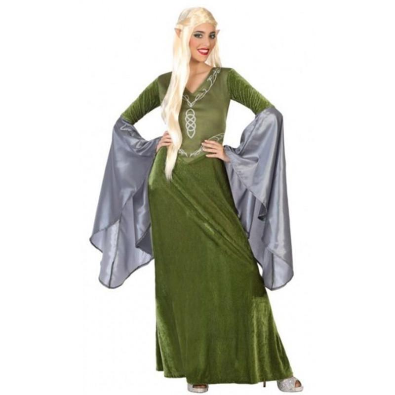 disfraz de dama elfa del señor de los anillos comprar