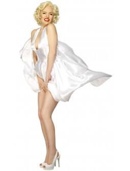 Disfraz de Marilyn Monroe Blanco para Mujer
