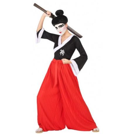 Disfraz de Guerrera Samurái para Mujer