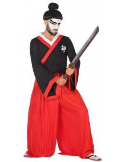 Disfraz de Guerrero Samurái Japonés para Hombre
