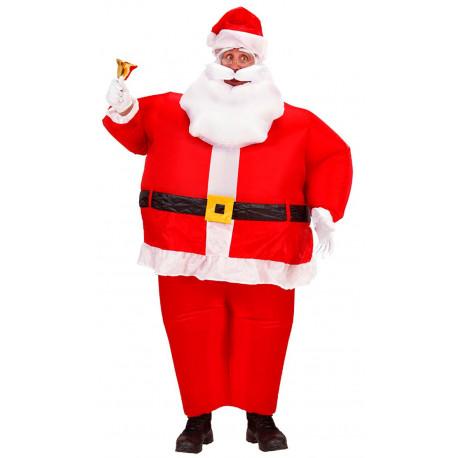 Disfraz de Papá Noel Hinchable para Adulto