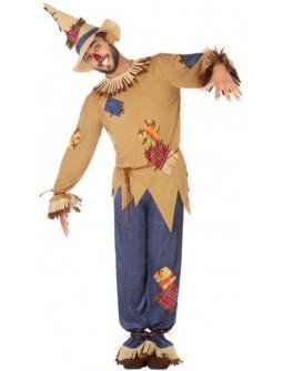 Disfraz de Espantapájaros para Hombre