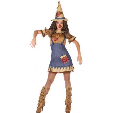 Disfraz de Espantapájaros para Chica