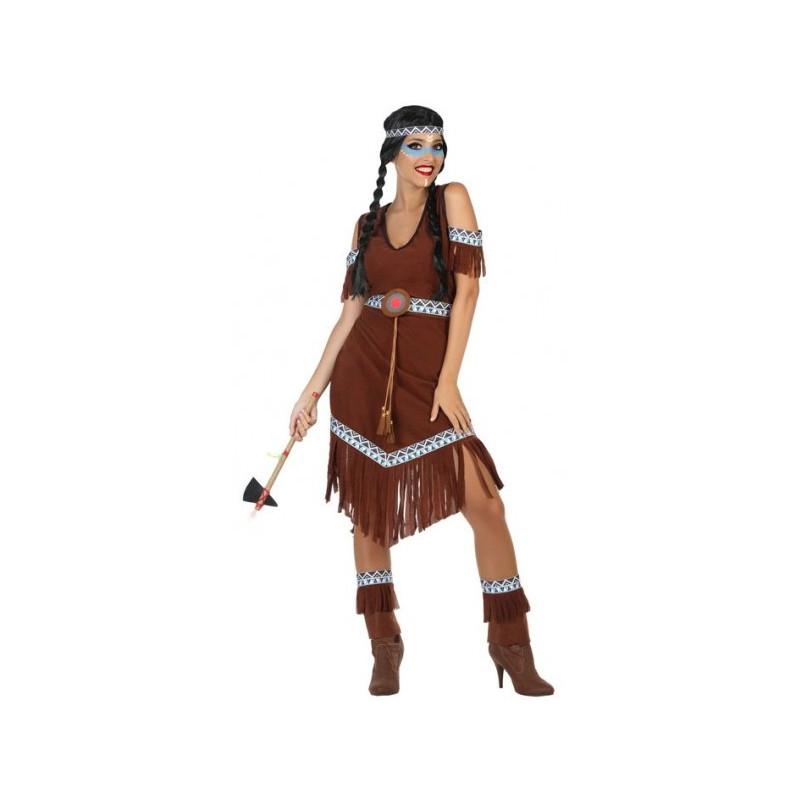 Disfraz De India Nativa Americana Para Mujer Comprar Online - Disfraz-india-americana