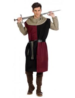 Disfraz de Caballero Cruzado Medieval para Hombre