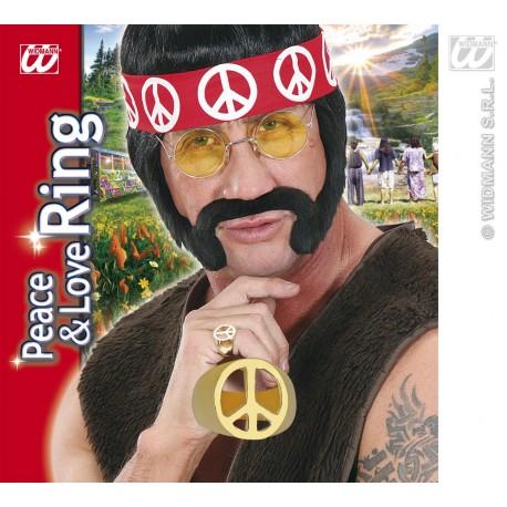 Anillo metalico hippie
