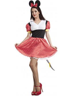 Disfraz de Minnie Mouse para Adulto